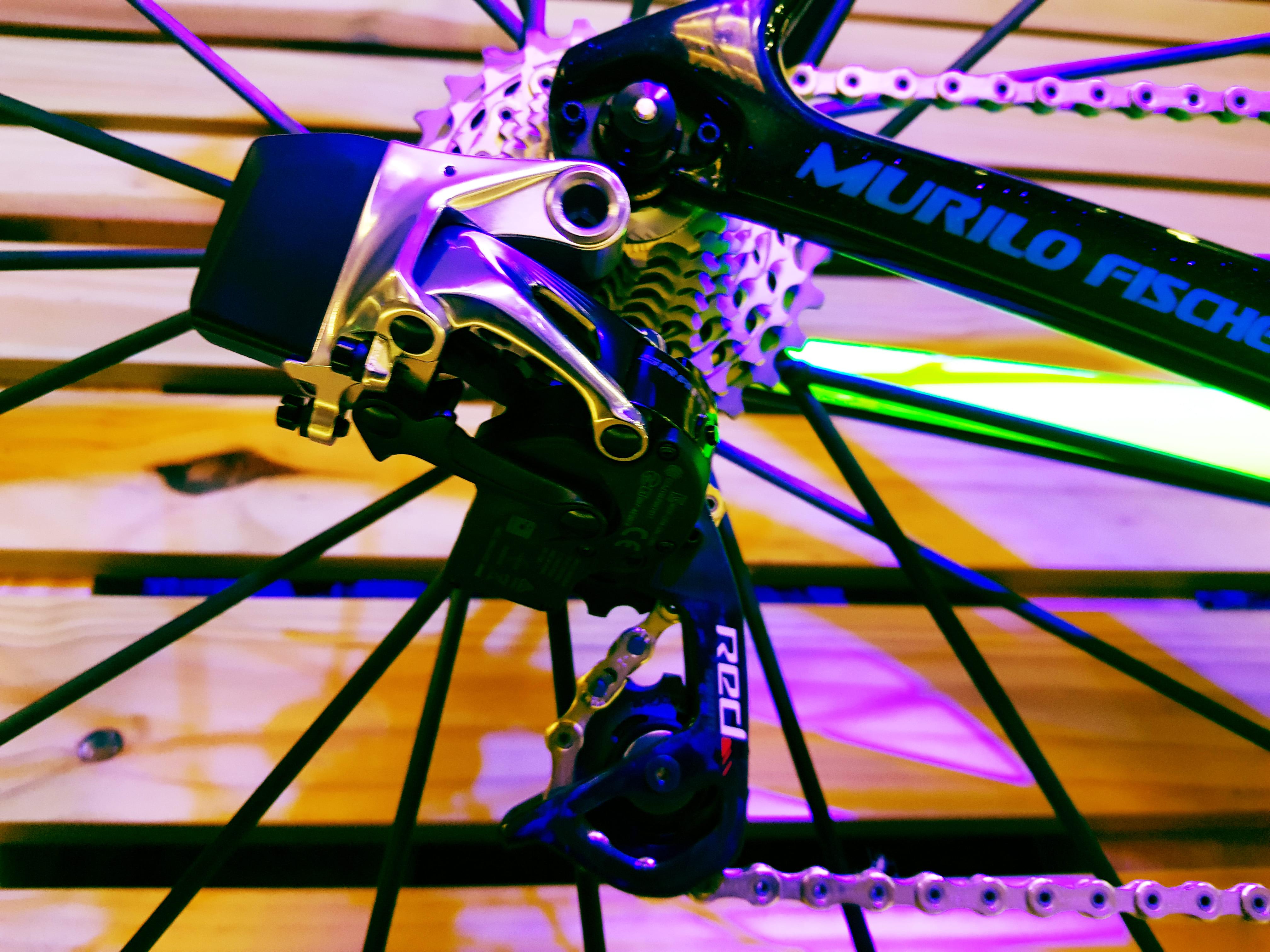 Detalhe da corrente da bicicleta Murilo Fischer Limited Edition